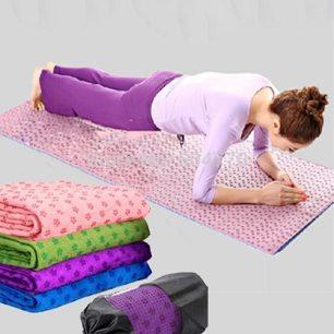Khăn yoga bằng cao su non - yoga shop