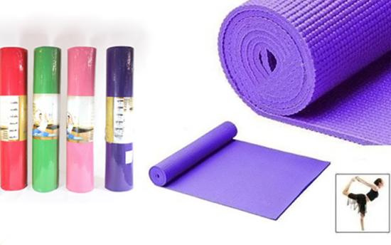 Thảm tập yoga PVC trơn