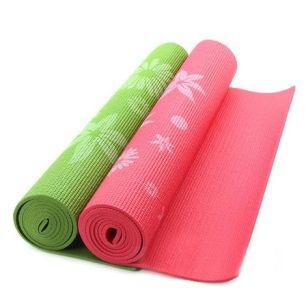 Thảm Tập Yoga PVC Hoa Văn