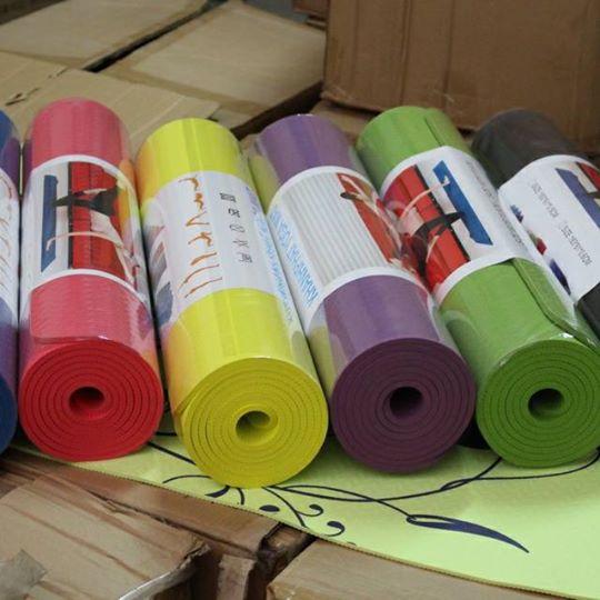 Thảm yoga sản xuất Việt Nam Khánh Phát Yoga mat